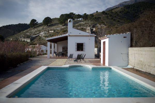 Casa Molino del Maroma en Sedella, Andalusien