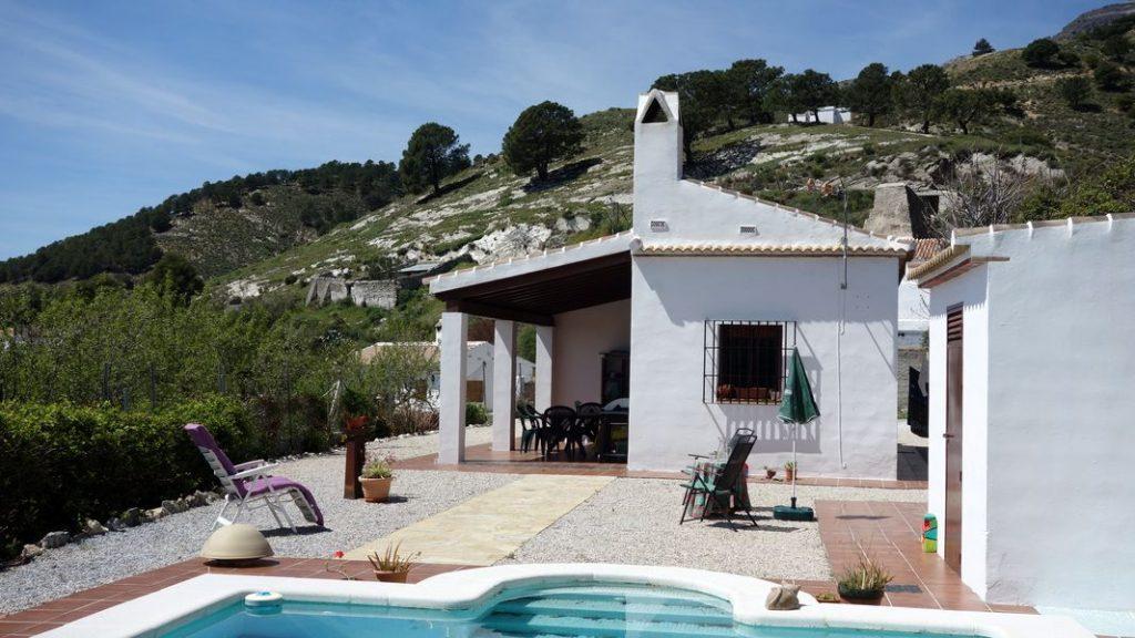 Haus außen - El Molino del Maroma in Sedella, Andalusien - 00