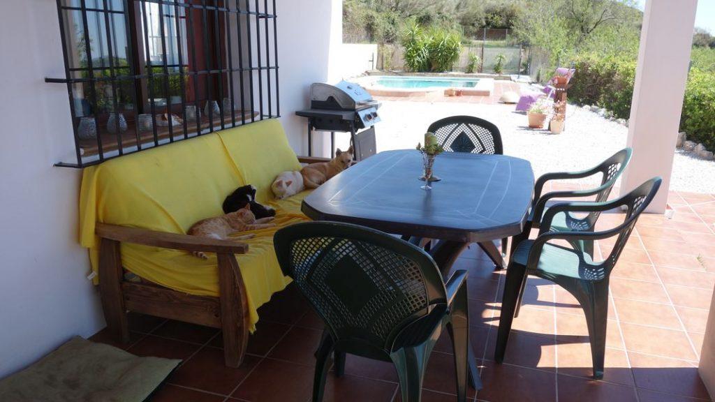 Haus außen - El Molino del Maroma in Sedella, Andalusien - 04